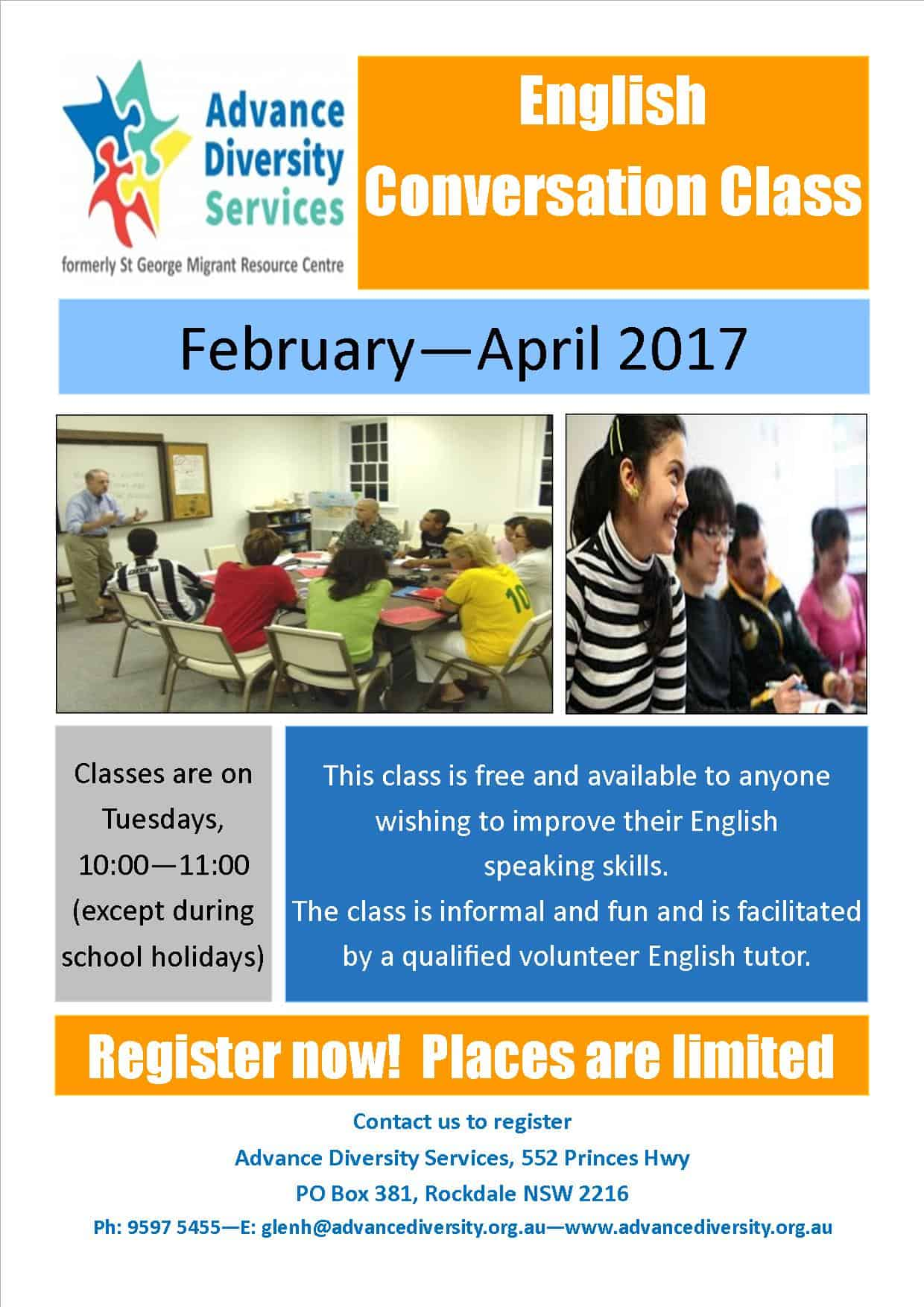 English Conversation Class | Advance Diversity