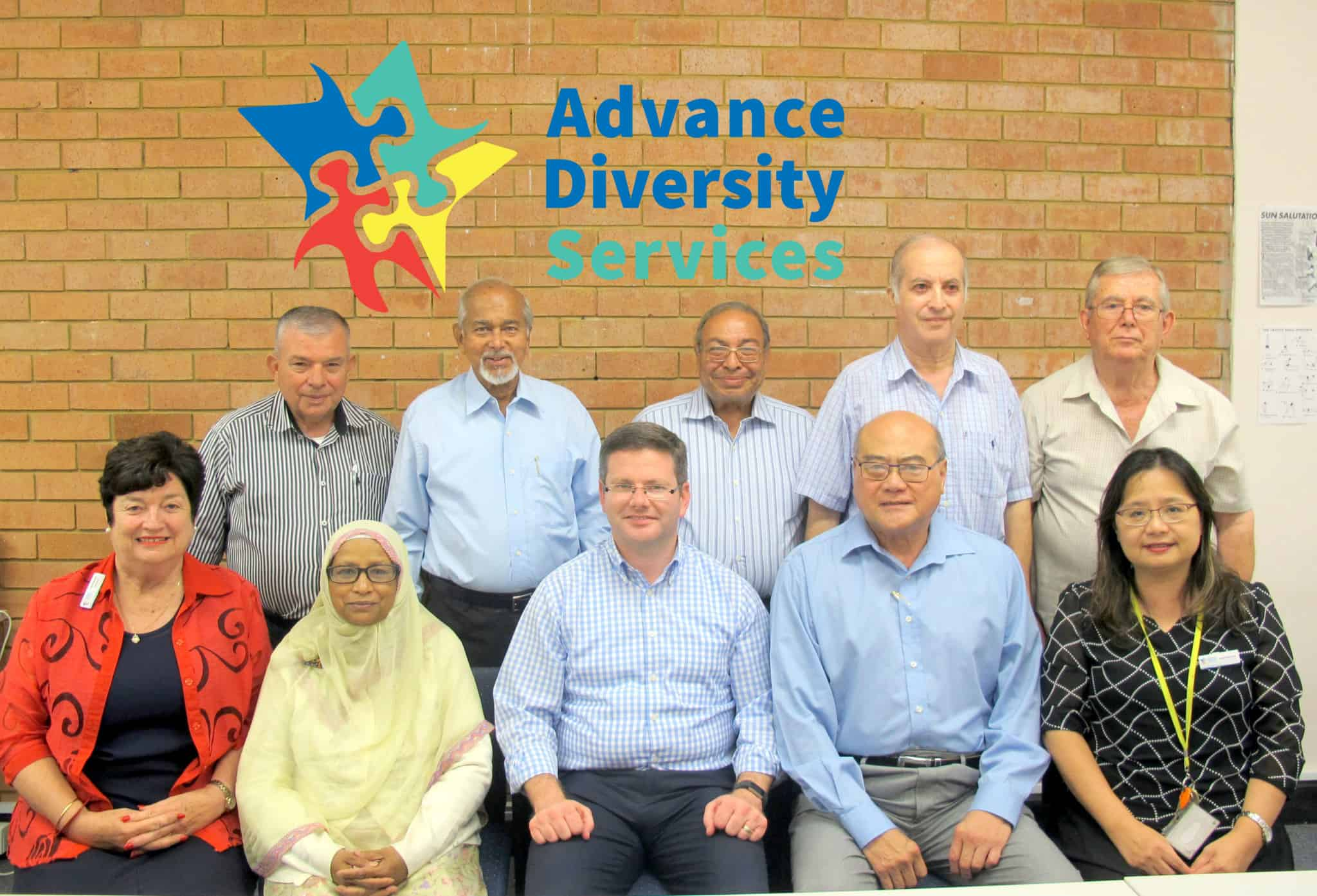 The Advance Diversity Services Board of Directors were very honoured to receive a visit from Mr Mark Coure MP this afternoon.