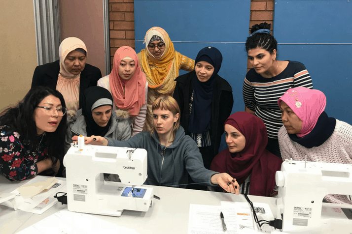 Beatrice Taylor: 'Boosting women's sewing skills was a joy'